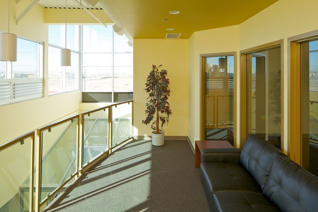 second floor offices