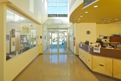 main reception - classrooms
