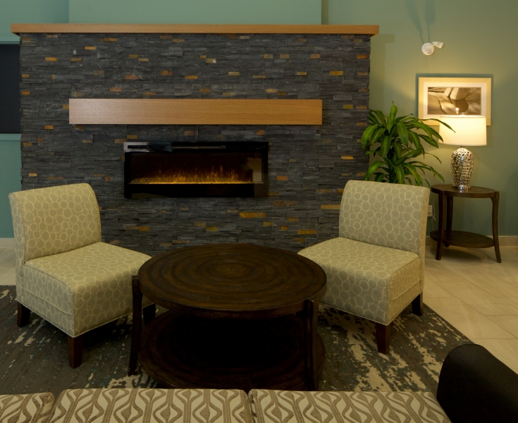 Best Western Fireplace