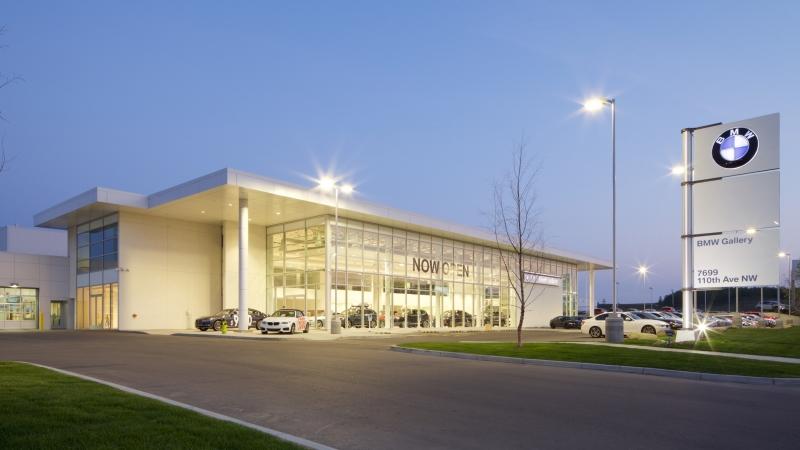 BMW Gallery dusk