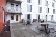 outdoor amenity area