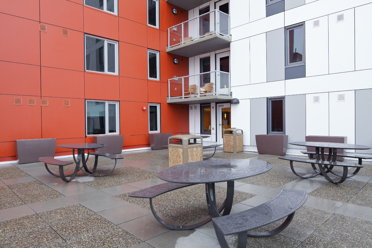 Outdoor Amenity. Outdoor Amenity. Typical Room. Typical Room. 2014 Mustard  Seed I2. Interior